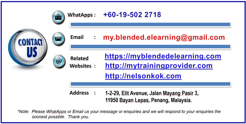 Contact My Blended eLearning .Com